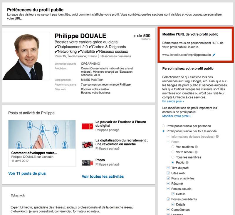comment personnaliser l u0026 39 adresse de votre profil linkedin