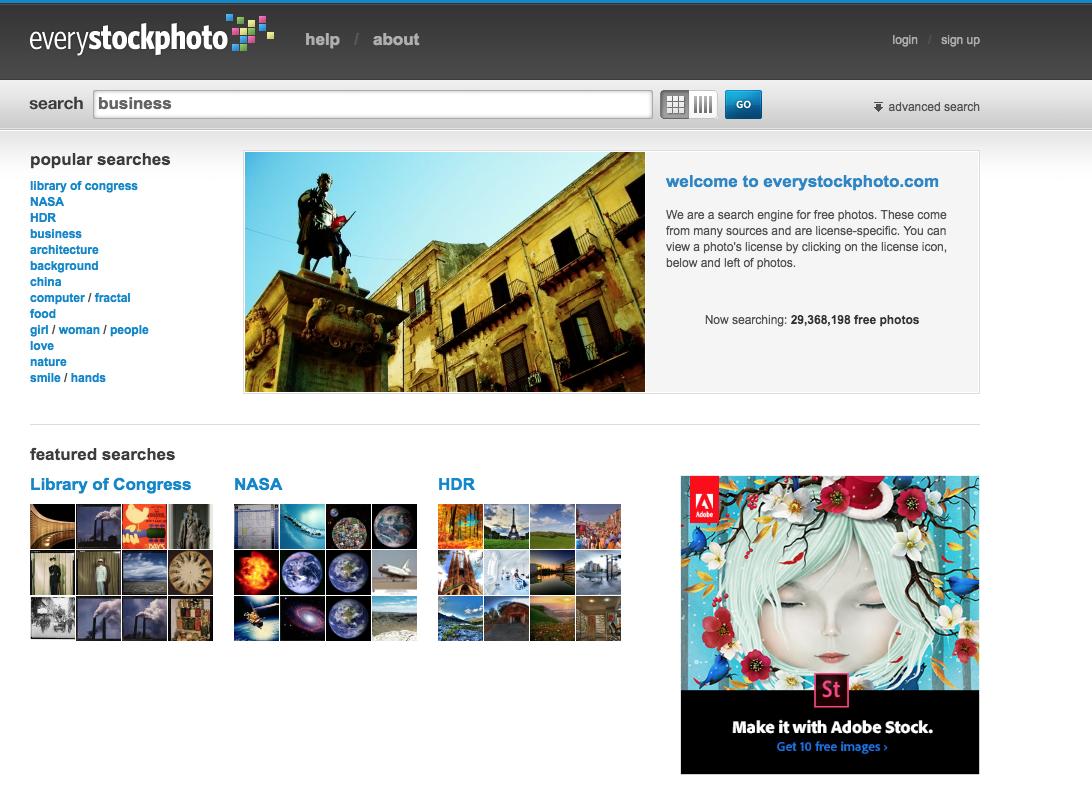 Banque d'images libres de droits Everystockphoto