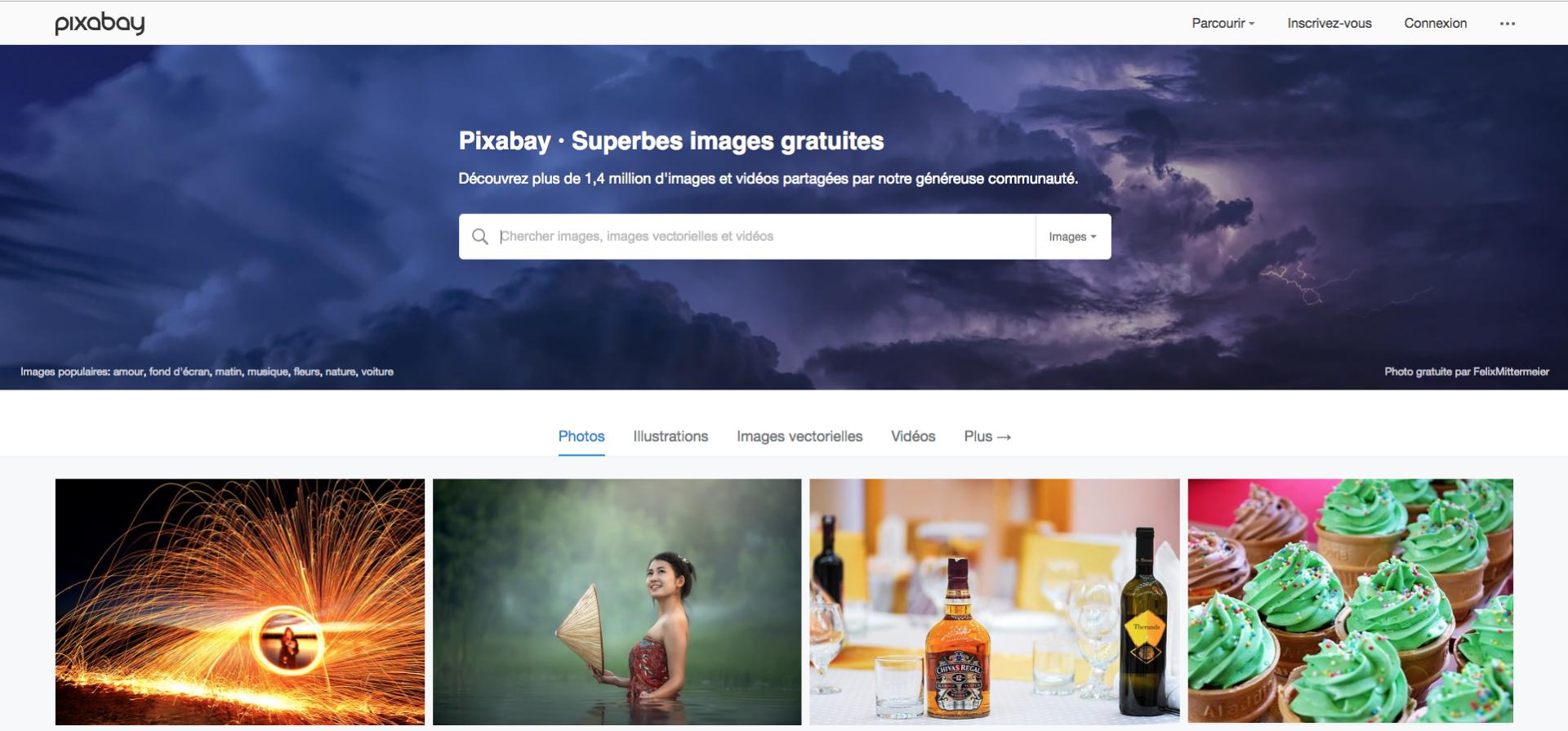 Banque d'images libres de droits Pixabay