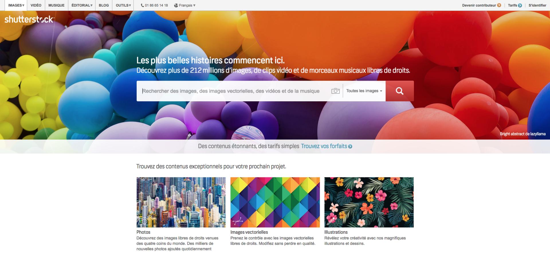 Banque d'images libres de droit Shutterstock