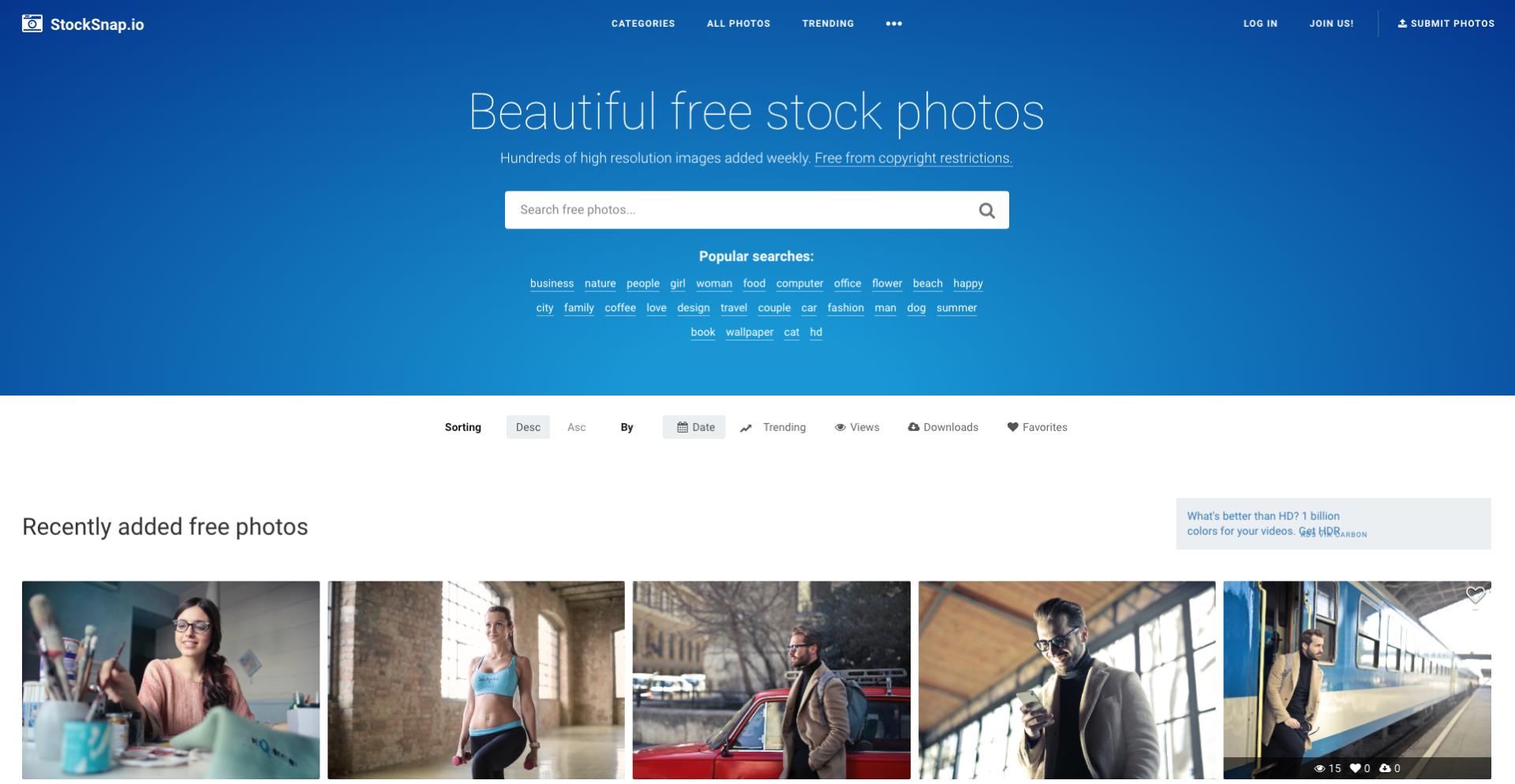 Banque d'images libres de droits Stocksnap