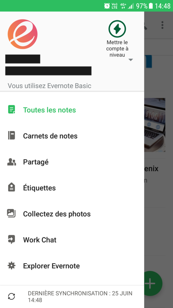Télécharger Evernote Android