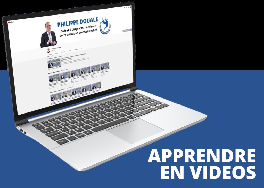 Apprendre en videos - chaîne Youtube de Philippe Douale