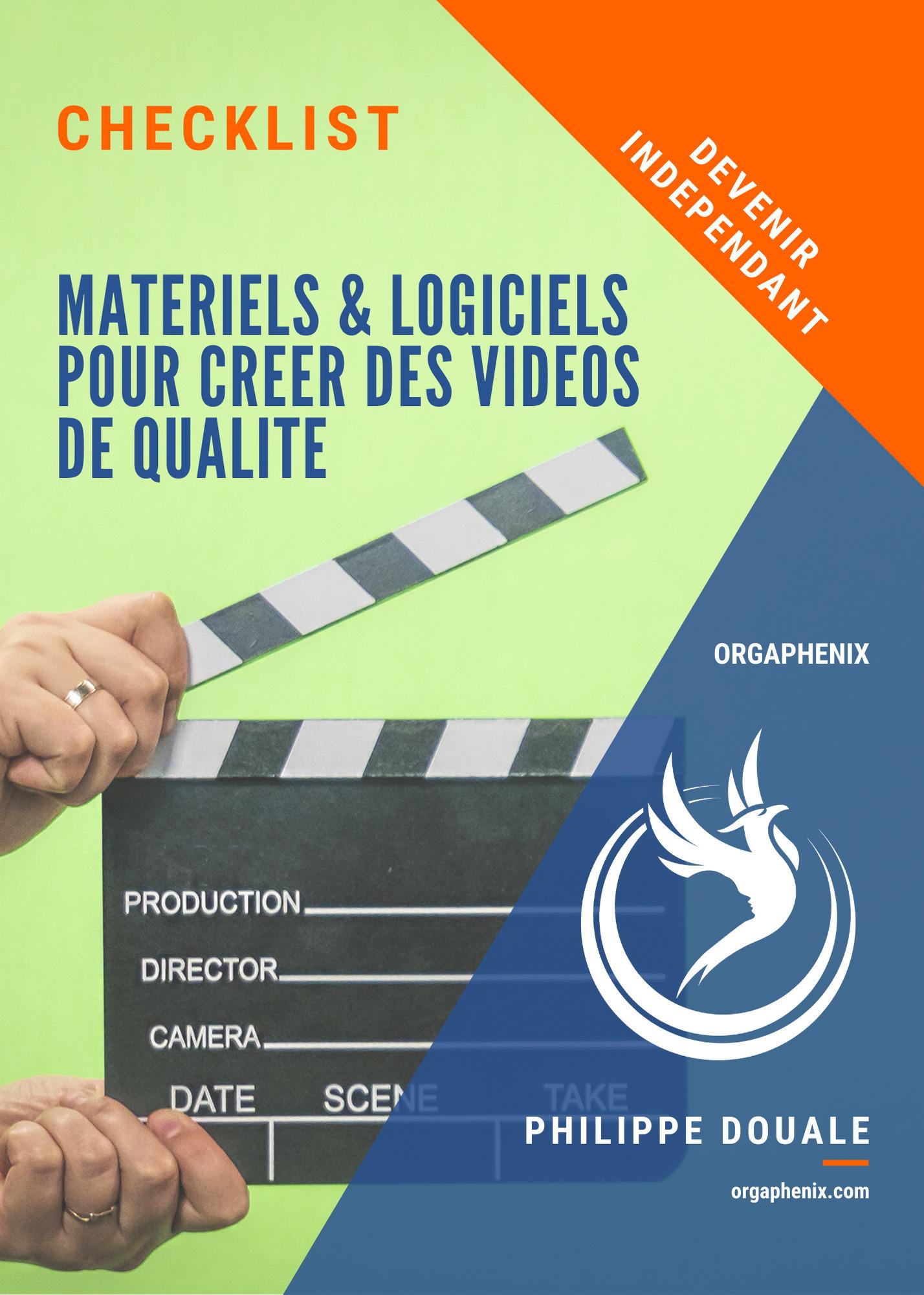 Matériels et logiciels pour créer des vidéos de qualité