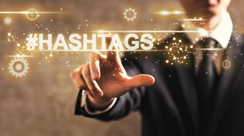 Hashtags sur LinkedIn