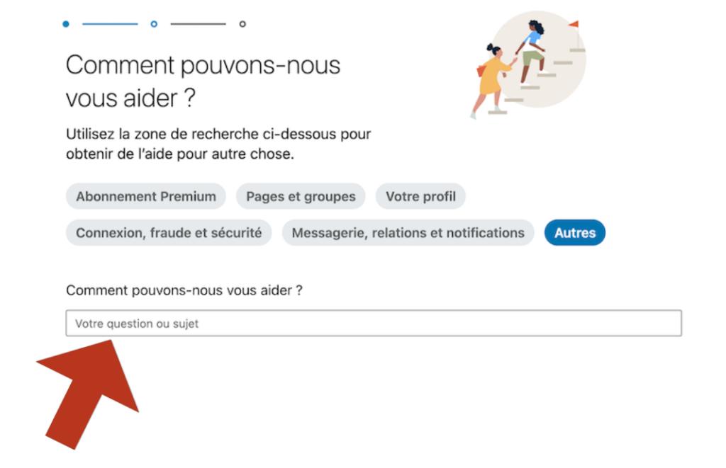 Comment contacter LinkedIn ?